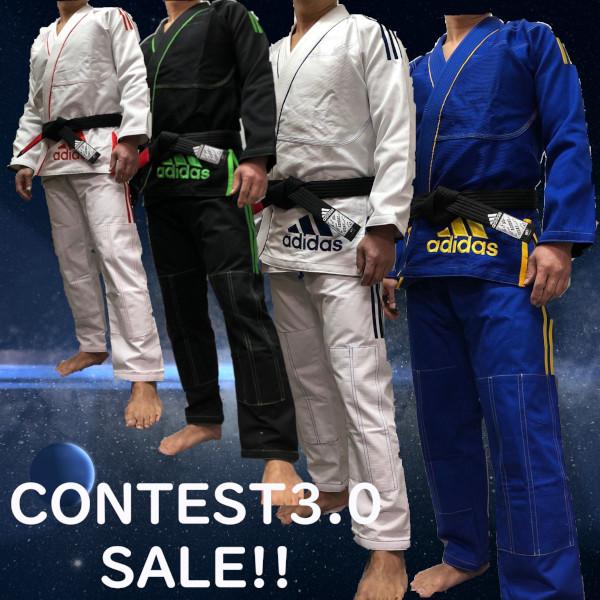 スポーツウェアで世界的に有名なブランド アディダス adidasの柔術衣