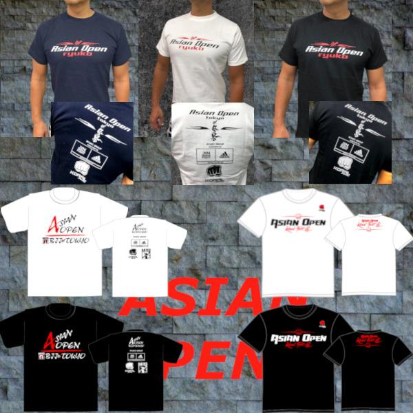 ASIAN OPEN ブラジリアン柔術アジア選手権記念 4ブランドコラボTシャツ