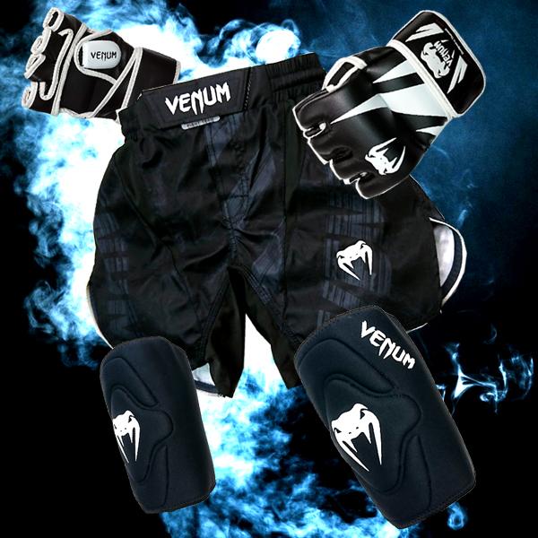 柔術着・グローブ・プロテクター・サポーターで人気のフランス発ブランド・ヴェナム VENUMのMMAグローブ