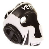 VENUM Headgear [Challenger2.0 Model] ヘッドギア 黒白 合皮 [vn-pt-hg-0771-challenger20-bkic]
